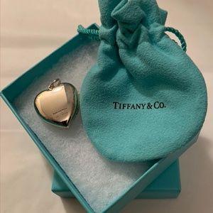 Tiffany & Co. Sterling Silver Heart Locket Pendant